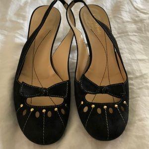 KATE SPADE slingback shoes